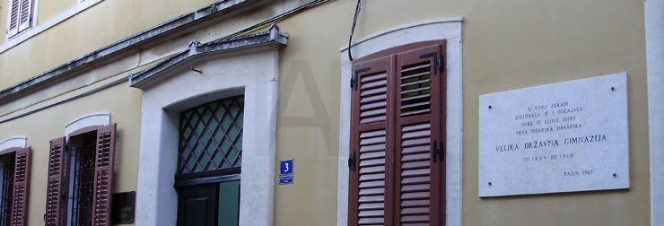 Sjedište IAD-a u ulici Vladimira Nazora 3