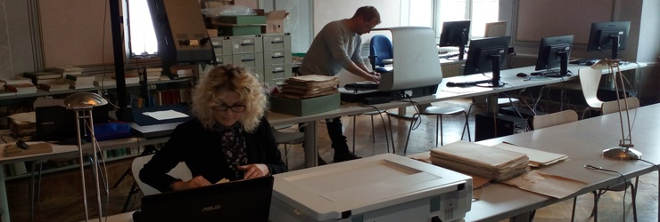 Digitalizacija u Arhivu Slovenije 2016