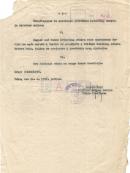 Pula, 20.10.1958. Rješenje o osnivanju