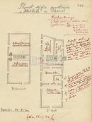 Pula, 26. 9.1958. Prvi nacrt prostora u Kaštelu s planom radnih mjesta