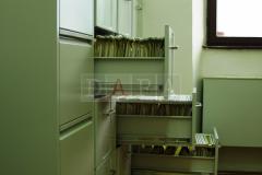 Kartotečni ormari s dosjeima imatelja i stvaratelja arhivskog i registraturnog gradiva