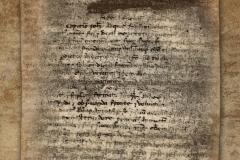 HR-DAPA-797 Zbirka isprava, 1200/1842, 1. Ugovor između nekog samostana i Kaptola u Puli o (vjerojatno) desetini (1200)