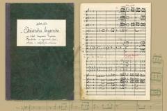HR-DAPA-970 Notni zapisi dirigenta, skladatelja i glazbenog pedagoga Nella Milottija, 20. i 21. st., Istarska legenda (fragment), s.a.