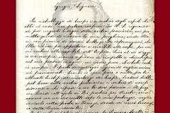 HR-DAPA-899 Zbirka pisama, 1824/1913, 1.03 (REG-4) Pismo Jurja Dobrile, biskupa Parisiniju (30. rujna 1861)
