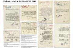 Per aspera ad... izložba povodom 45. obljetnice osnutka Državnog arhiva u Pazinu (23.10.2003.)