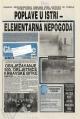 Glas Istre, album obitelji Gržetić, poplava 1993.
