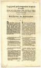 Kazne za prekršitelje Zakona vezanih za zarazne bolesti; HR-DAPA-799, Zbirka plakata i drugih tiskovina, 52.a. Kazneni zakoni..., 1/7, 1805.