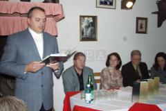 Predstavljanje izdanja održano je u Državnom arhivu u Pazinu 23. listopada, a u Humu 17. studenog 2003. godine u organizaciji Udruge Hum.