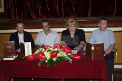 Predstavljanje izdanja održano je u Labinu 18. kolovoza, a u Čitaonici Hrvatskog državnog arhiva u Zagrebu 16. prosinca 2008. godine.