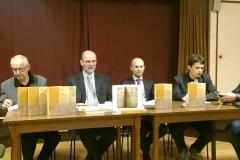 Predstavljanje izdanja održano je u Borštu (Dolina kraj Trsta) 5. listopada 2017. godine.