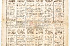 HR-DAPA-779, Zbirka plakata i stampata - Kalendar iz 1813.