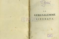 Tasso la gerusale Liberata, Vol. II, 1785.