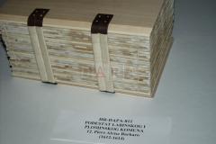 Restaurirano i uvezano arhivsko gradivo prema izgledu izvornika. Nakon restauracije i uveza knjiga je pohranjena u posebno izrađenu zaštitnu kutiju.