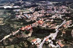 Crvenom bojom označene su zgrade Državnog arhiva u Pazinu