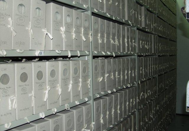 Arhivsko gradivo u spremištu